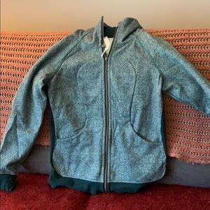 Lululemon hooded sweatshirt zip up. Size 10